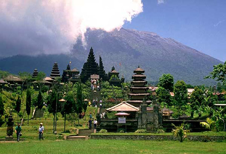 Besakih tour on the slopes of Mount Agung