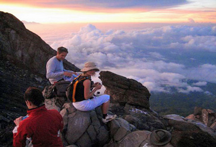 Mount Agung hiking, sunrise summit hike