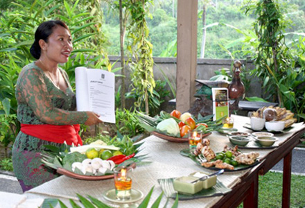 Ubud cooking class as part of Ubud tour