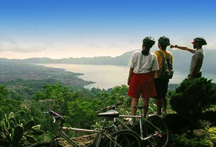 Kintamani cycling tours from Kintamani to Ubud