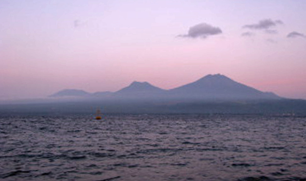 things to do in Bali- West Bali, Gilimanuk, from where you can see the volcanoes of Java