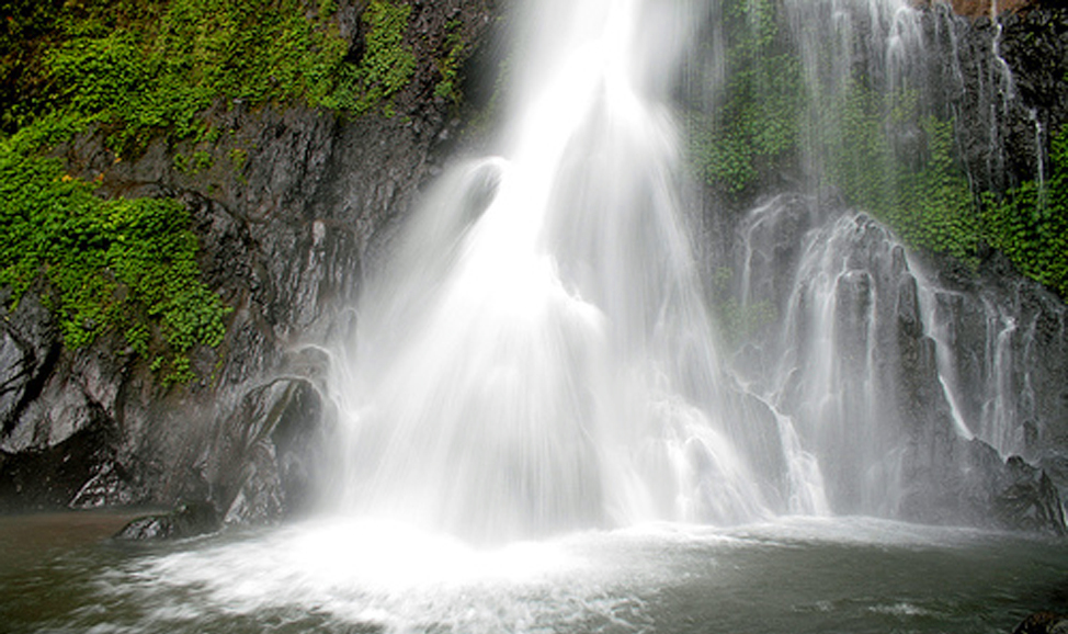 things to do in Bali - Git git waterfall