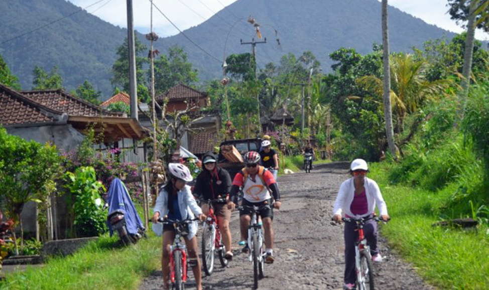 things to do in Bali - Jatiluwih cycling north Bali, north Bali