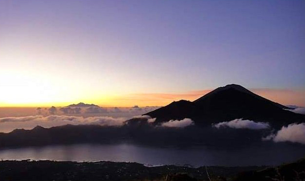 things to do in Bali - Kintamani sunrise hike to summit, North Bali