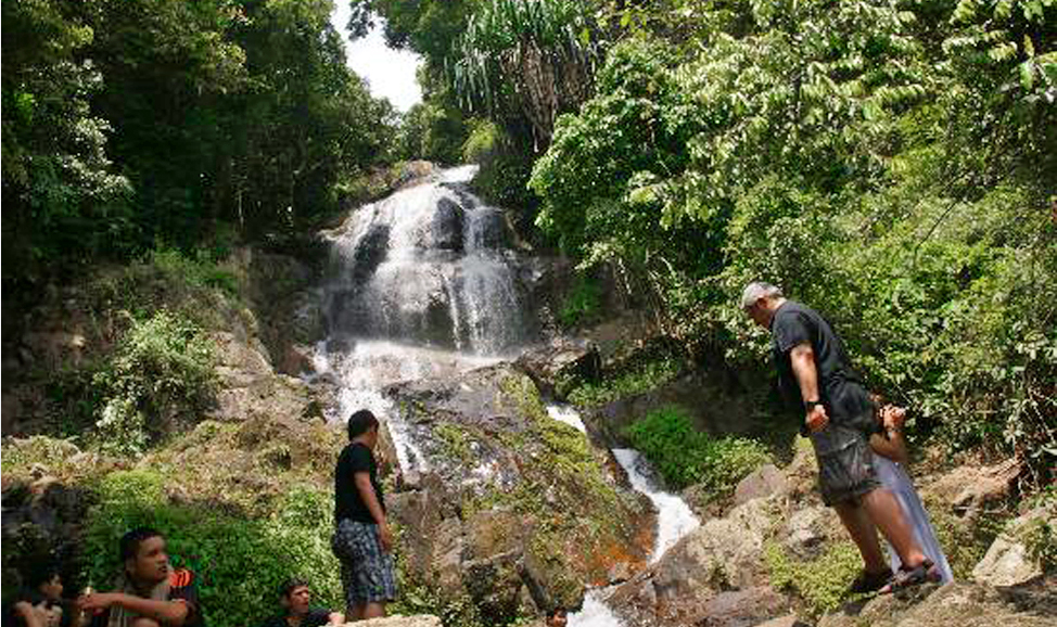things to do in Bali - Les waterfall