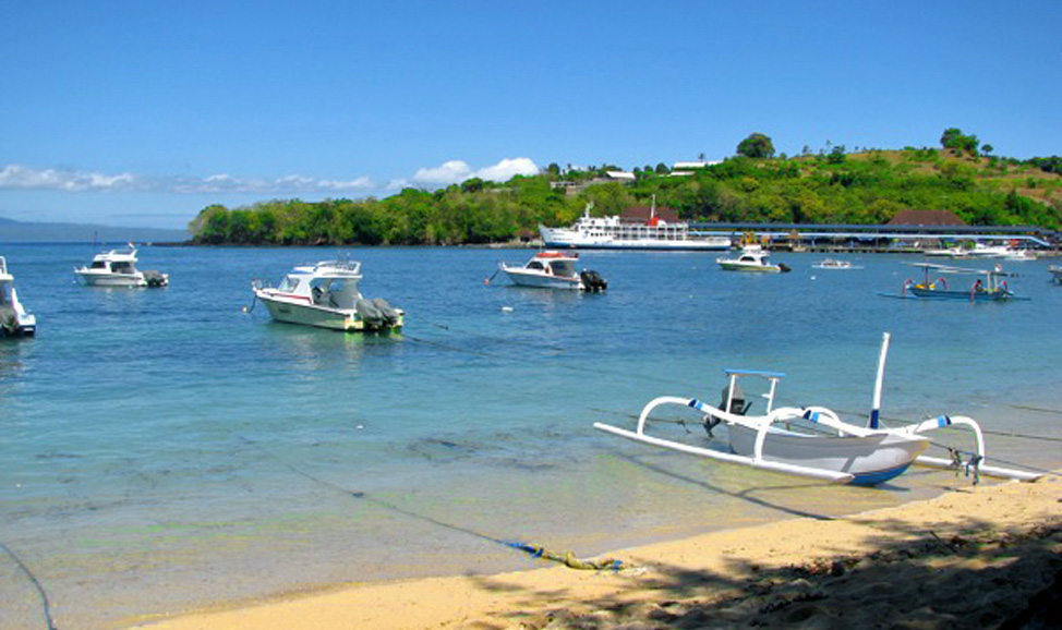 things to do in Bali - Padang Bai in east Bali runs ferries to Nusa Penida.