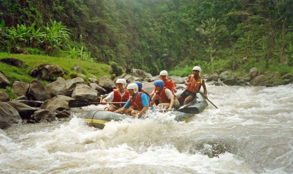 Things to do in Bali - white water rafting, North Bali