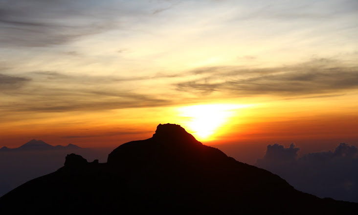 things to do in Bali - Mount Agung, Bali's spiritual heart, is great for casual hiking and serious climbs to the summit to experience sunrise on the summit.