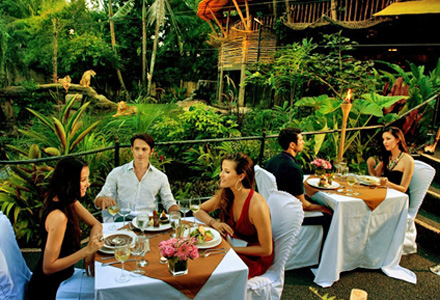 Bali Zoo by night dine under stars with wild animals